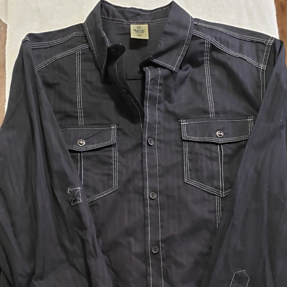 Rustic Blue Other - Rustic Blue Button Up Shirt
